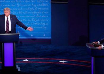 Trump debate virtual