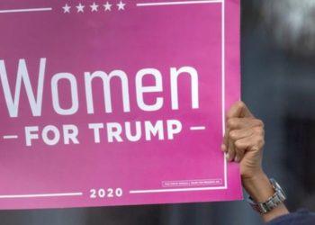 Trump y mujeres