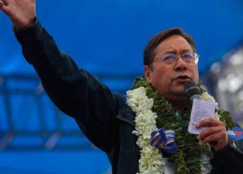 luis arce presidencia bolivia