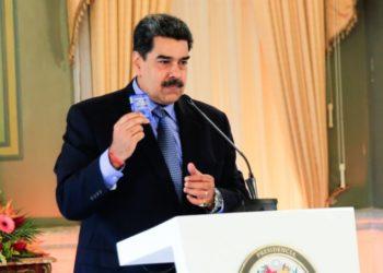 Maduro reservas de gasolina