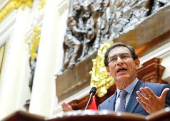 Martín Vizcarra y Congreso