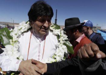 Evo Morales regresó a Bolivia