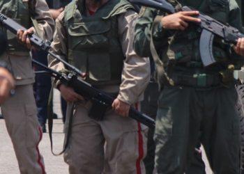 Militares venezolanos liberados