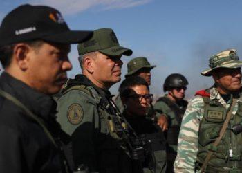 Maduro y cúpula militar