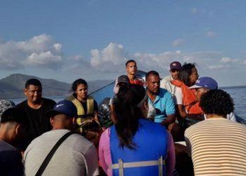 red de explotación Naufragio Trinidad niños trinidad