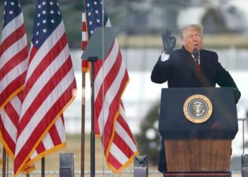 Trump violencia derrota
