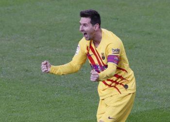 Lionel Messi volvió a brillar