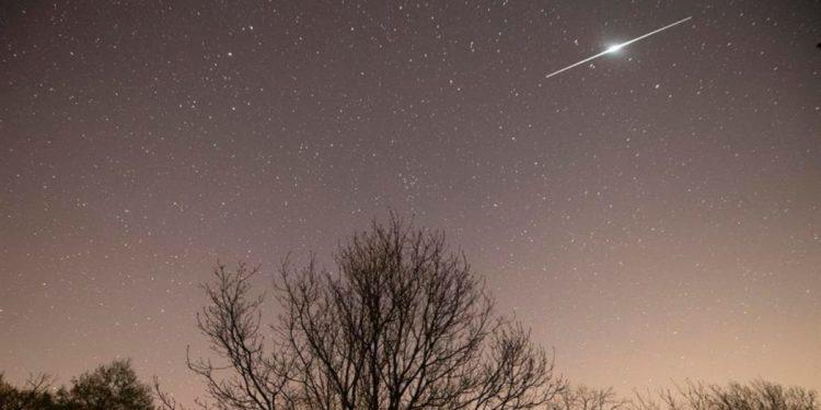 Meteorito y Tierra