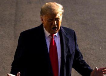 Trump y muro