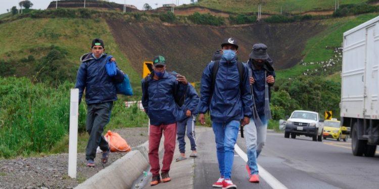 Venezolanos migrantes
