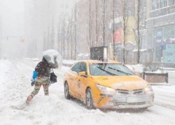 tormenta nieve nueva york