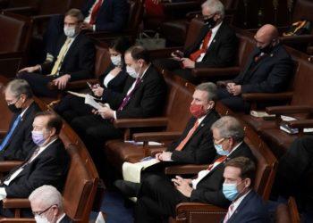 El partido republicano presencia en el Congreso la ratificación de Joe Biden como presidente electo