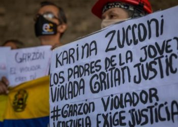 Garzón y venezolana