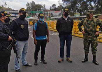 Ecuador fronteras