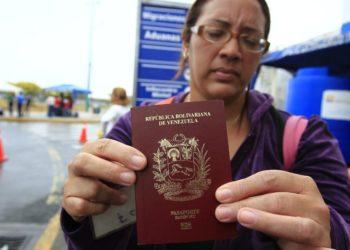 Chile pasaportes venezolanos vencidos