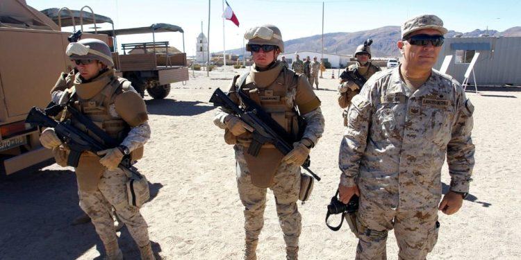 Chile Fuerzas Armadas frontera