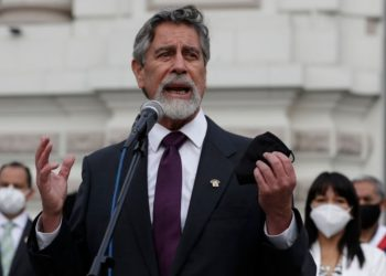 Presidente Perú vacuna