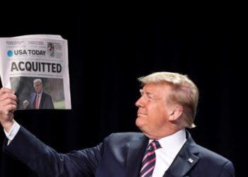 Arremetida contra Donald Trump