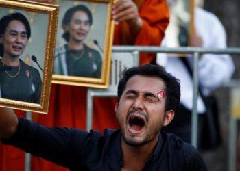 Myanmar y desobediencia civil