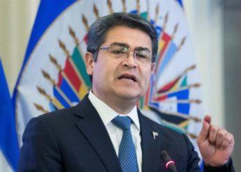 presidente de Honduras y narcotráfico