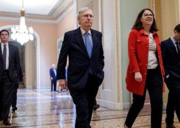 Mitch McConell y Senado