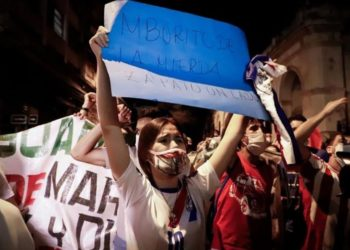 Protestas y Paraguay