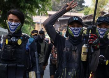 Baño de sangre y Myanmar
