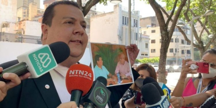 Detencón de Javier Tarazona