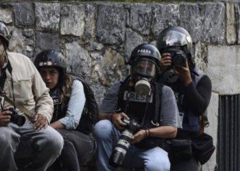 Maduro y prensa