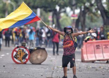 Protestas y Colombia