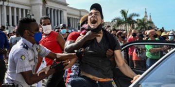 Régimen cubano y represión